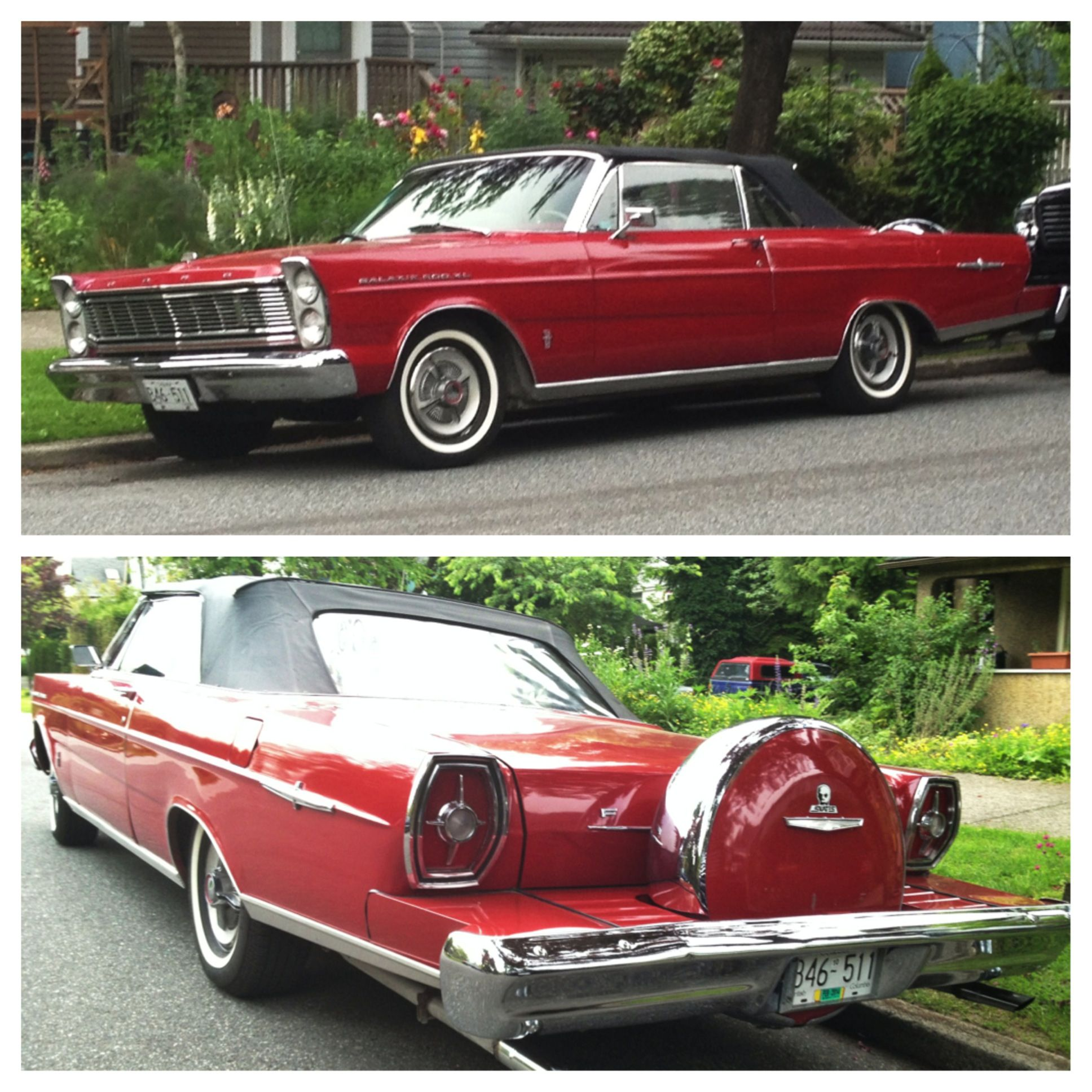 Mid 1960's Ford Galaxie 500. Nice Looking Car. #eastvan
