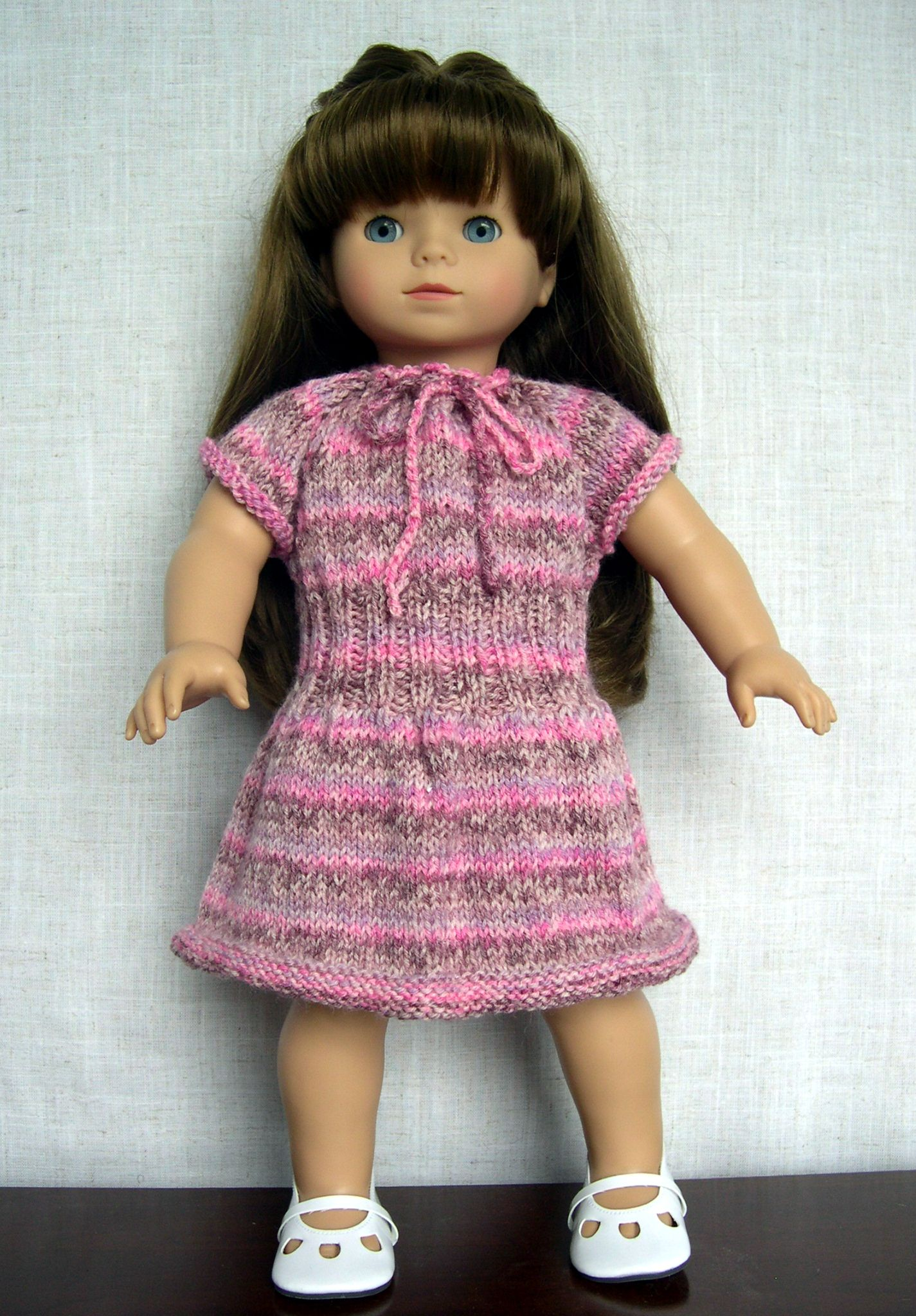 18 inch Doll Clothes Handmade knit outfit made to fit 18\
