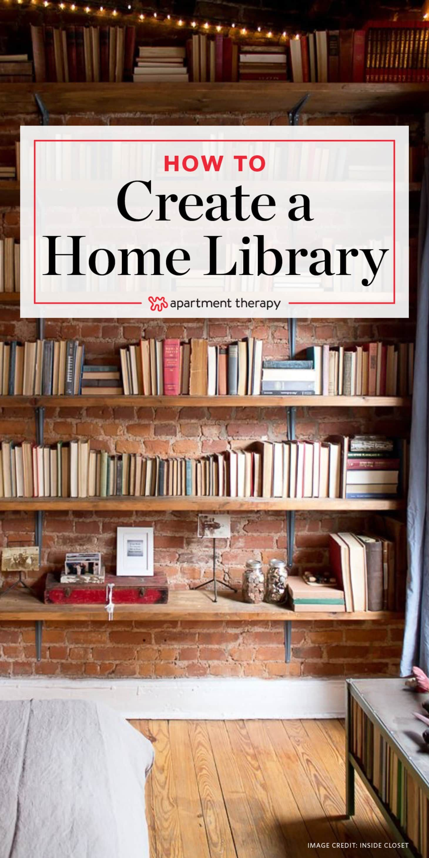 Calling All Bibliophiles Try These Book Storage Ideas For Showing Off Your Collection Small Home Libraries Home Library Rooms Home Library Diy