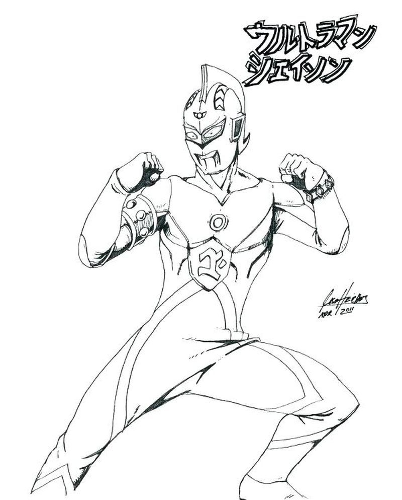 Ultraman Cosmos Coloring Pages Print For Those Of You Who Are Movie Lovers Who Have A Super Hero Genre From Japan You Must Have Heard The Ultraman Film Ultra [ 993 x 800 Pixel ]