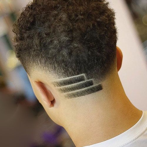 Black Boy Side Design Haircut Black Boys Haircuts Hair Designs For Boys Haircut Designs