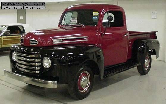 """Gut gemocht ford 1950"""" pick-up """"black-red"""" - Buscar con Google 