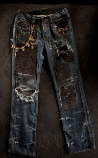 Dussault Apparel's Trashed Denim jeans are priced at $250,000 ...