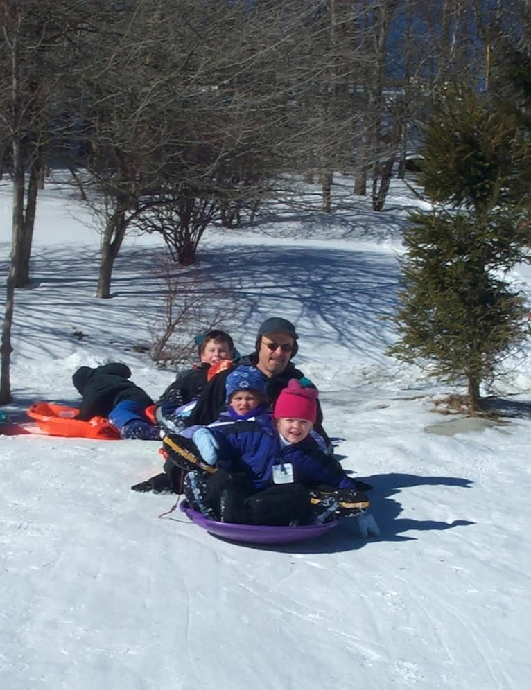 Beech Community Sledding Hill The High Country's only