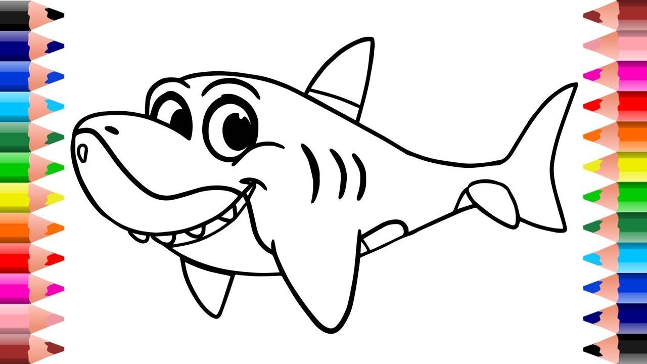 Baby Shark Drawing and Coloring for Kids 2019 | Setoys ...
