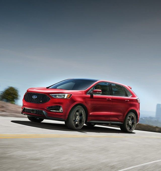 2019 Edge St In Ruby Red Vehicles Suv Models Ford Edge 2019