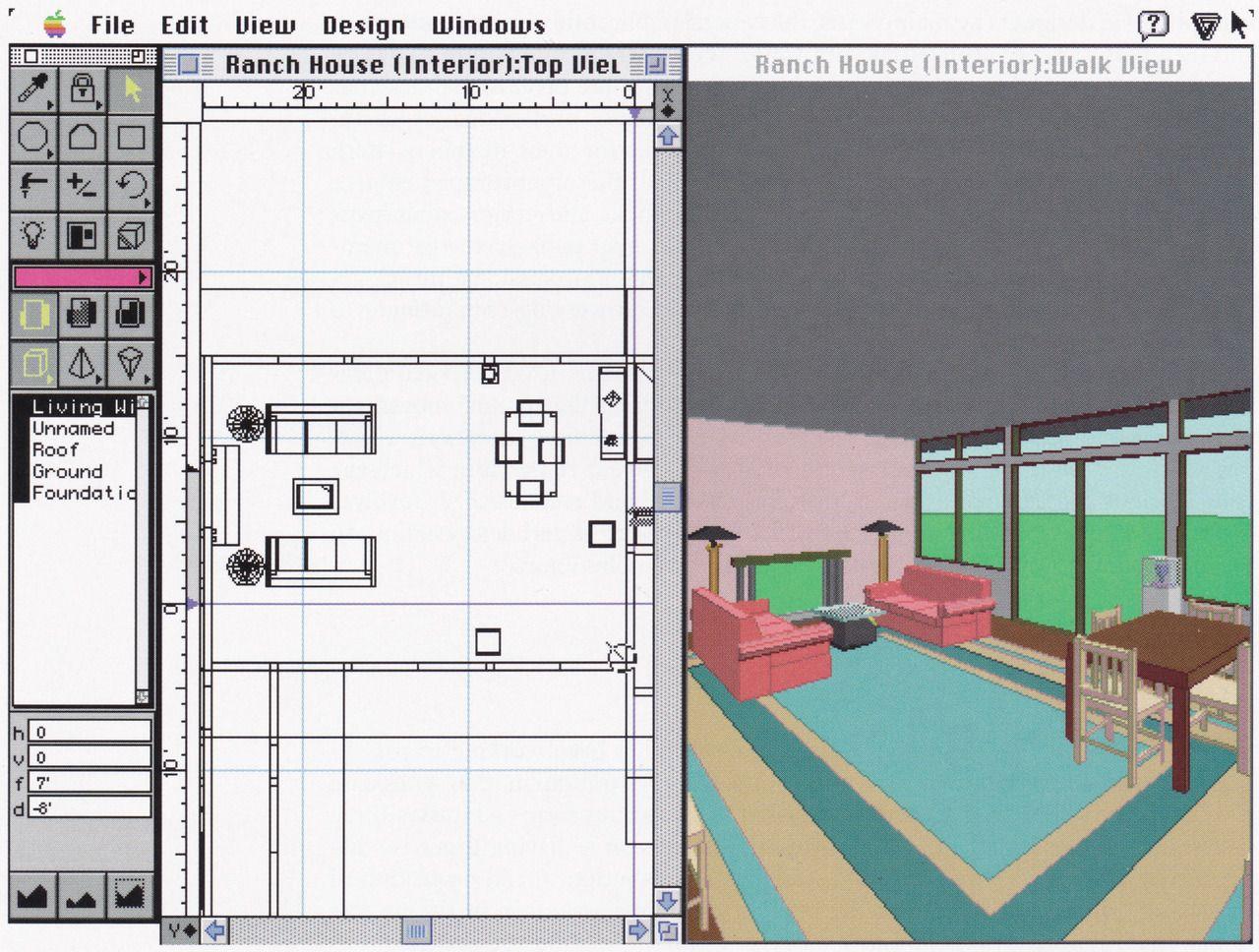 Aesthetic Virtual Software Virtus House Mac Interior 3d
