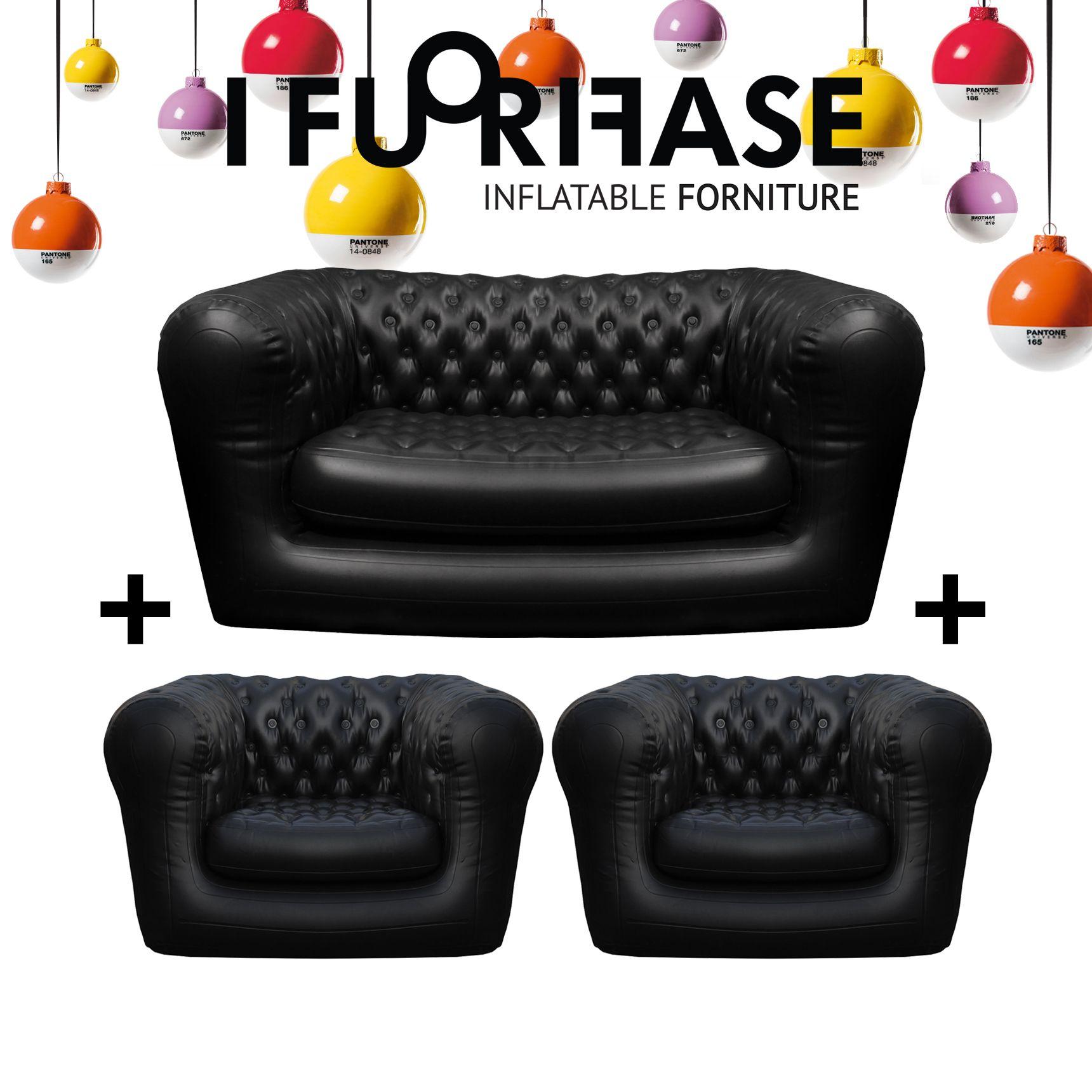 poltrone e sofa gonfiabili di arredamento di interni ed esterni, per ...