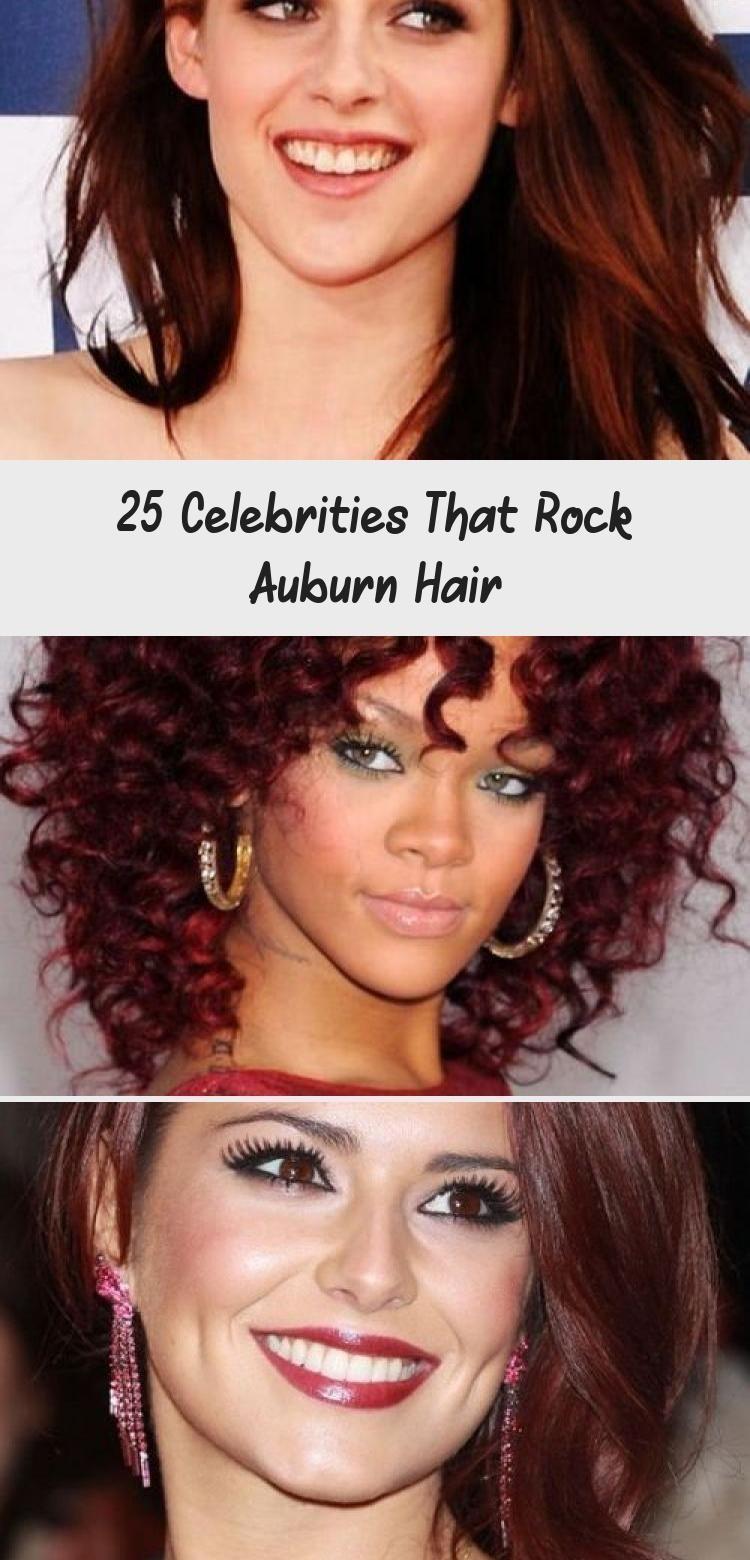 25 Stars, die Auburn Hair rocken, #Auburn #Celebrities #darkauburnhairstyles #Ha…, #Auburn…