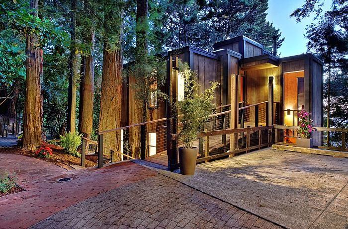 Joseph Esherick House In Oakland