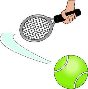 Sports tennis. Free clipart scores