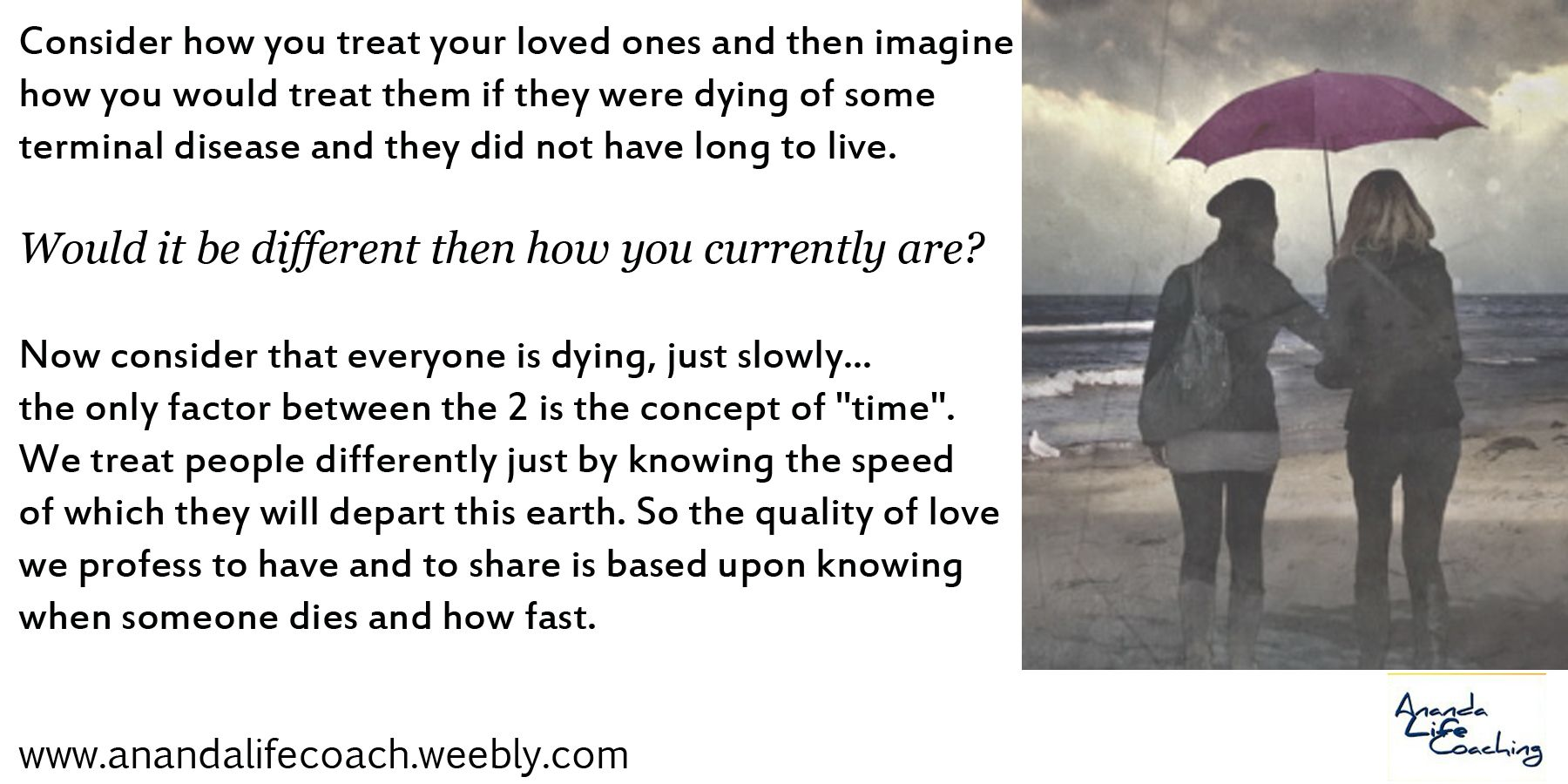 Love and dying