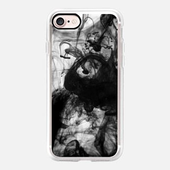 iPhone 7 Case Black Smoke - Graphic by D