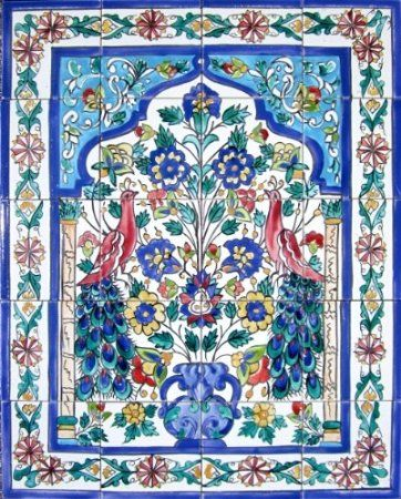 Hand Painted Decorative Ceramic Picture Tiles Classy Decorative Ceramic Tiles Hand Painted Mosaic Murals Kitchen Inspiration