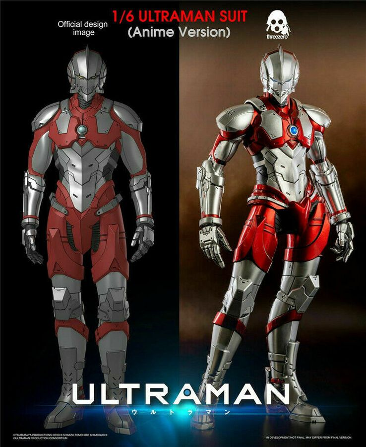 Threezero 3A 3Z0129 1/6 ULTRAMAN SUIT (Anime Version