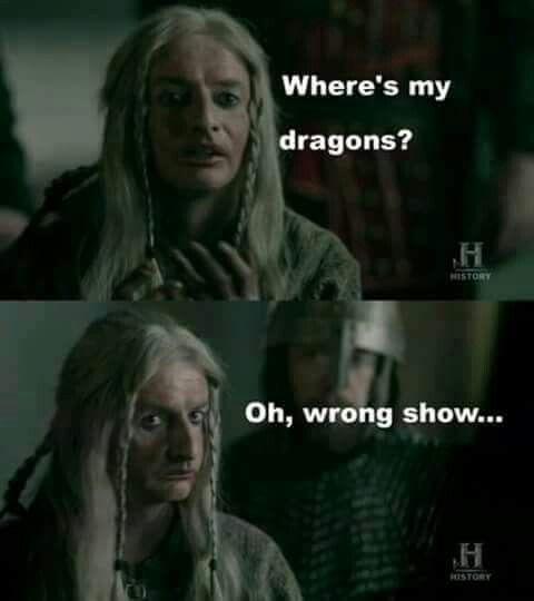 Cindrich Tv Shows Funny Viking Meme Vikings