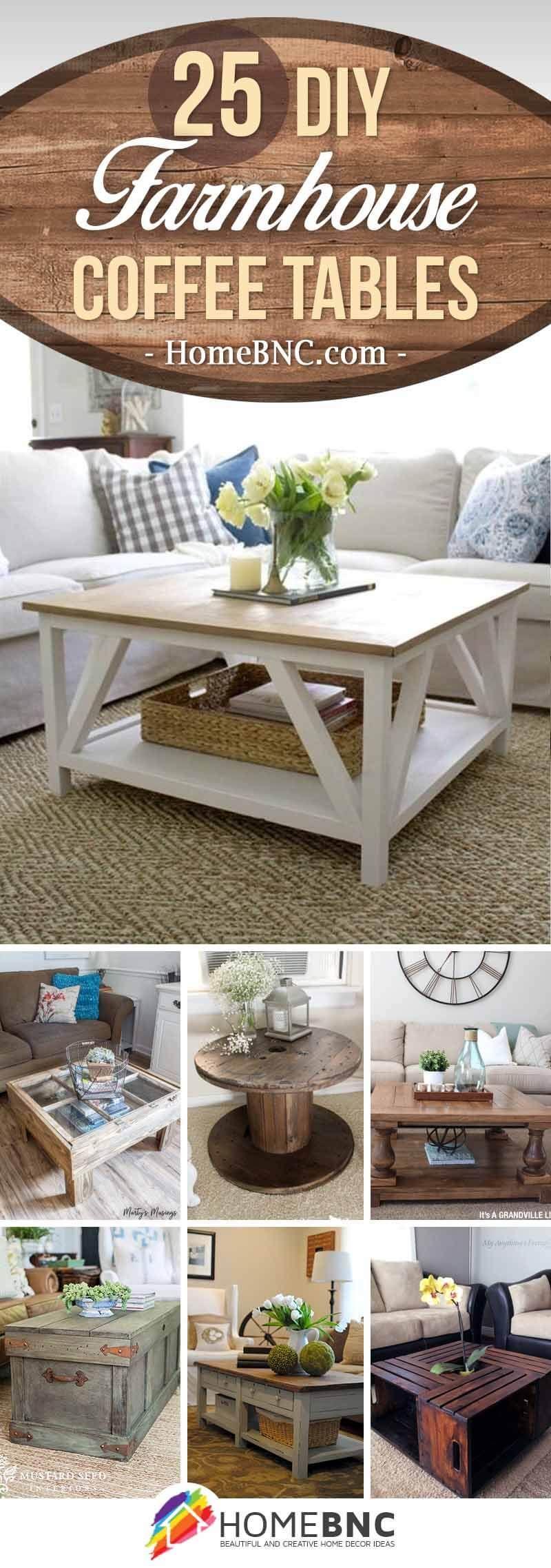 Diy Farmhouse Coffee Table Ideas Decor Coffee Table Design Diy