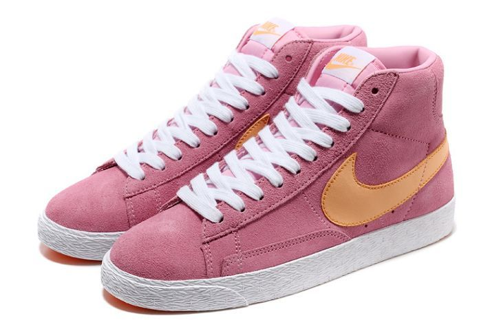 nike blazer high rose