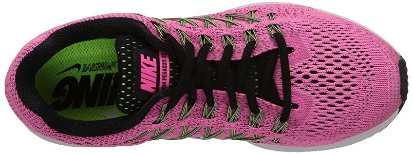 superior quality dbed0 3a793 Nike Air Zoom Pegasus 32 - Zapatillas para mujer, Rosa (Pink Pow   Blk-Brly  Vlt-Ghst Grn), 38.5 EU