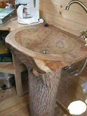 Lavabo En Bois Into The Wood Deco Bois Meuble A Fabriquer Soi Meme