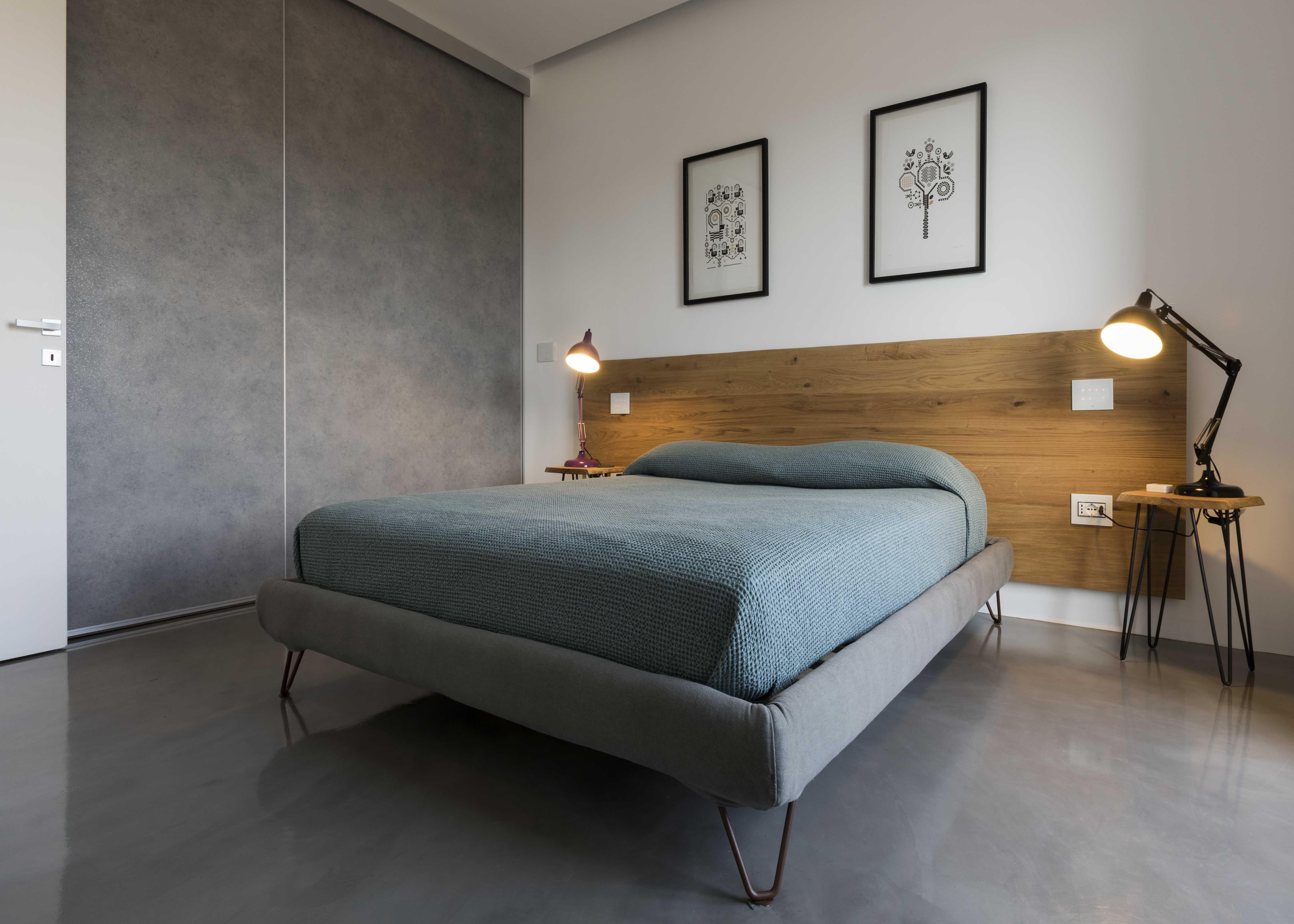 Pin di vimar group su domotica residenziale pinterest bedroom bed furniture e home - Testa del letto ...