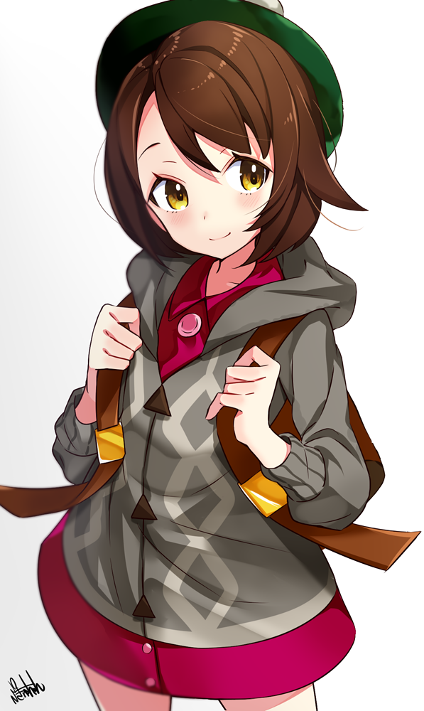 Ready For The Next Adventure Pokemon Sword Shield Anime Girl