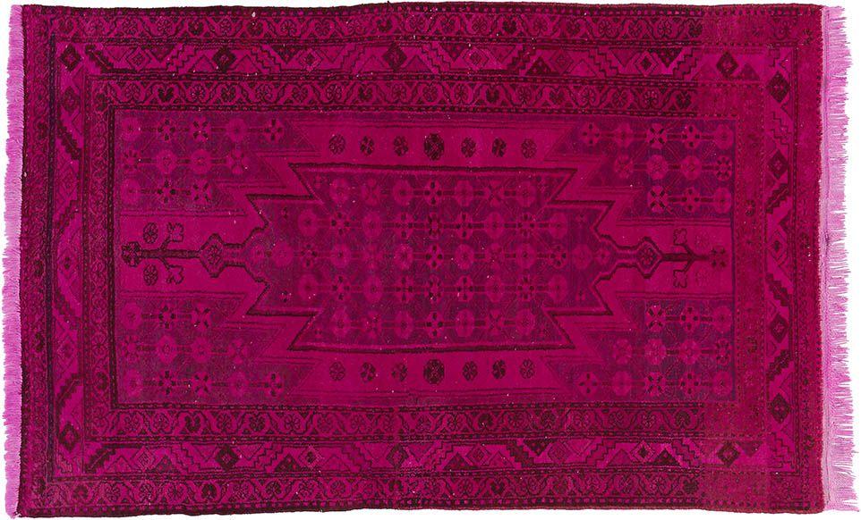 Pink Er Teppich By KISKAN PROCESS HAMBURG Orientteppich Gefrbter