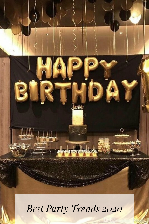 Decorative Balloon Set Birthday Party Table Decorations 50th Birthday Decorations Birthday Party Tables