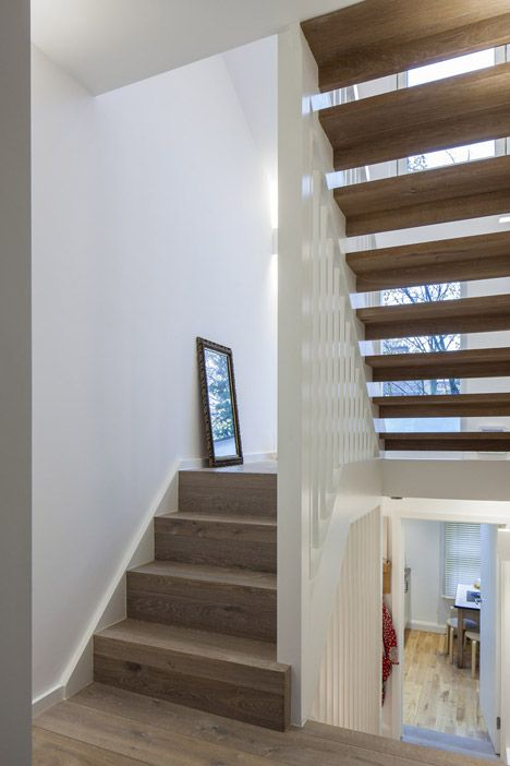 Poulsom Middlehurst Adds Copper Clad Extension To East London Attic Flat Loft Conversion Stairs New Staircase House Roof