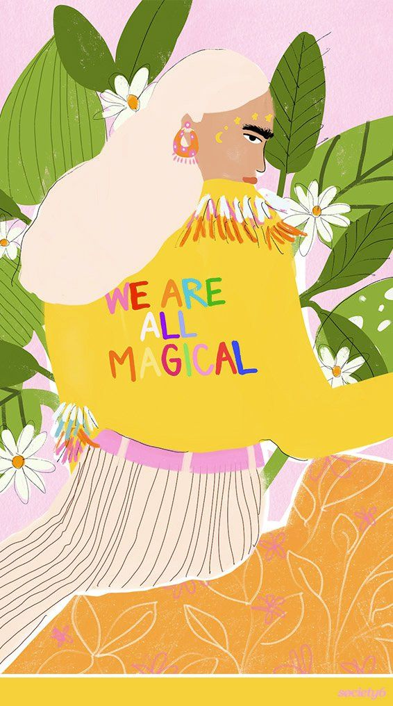 """We Are Magical"" Art by Alja Horvat. Get to know the Slovenia-based artist who… 