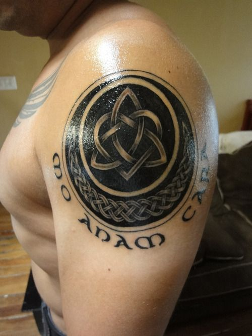 Celtic Knot Soul Mates Cool Tattoos Pinterest Anam Cara