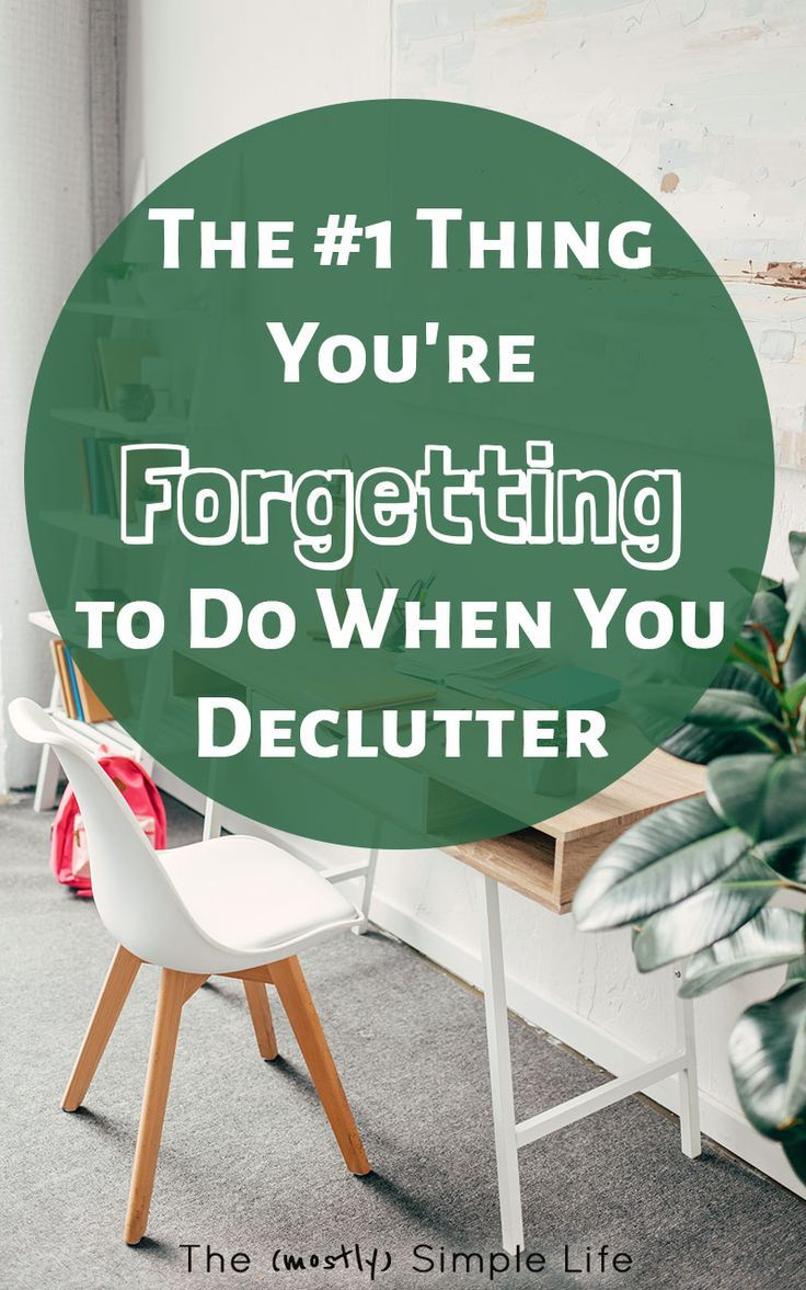 The One Thing Youre Forgetting To Do When You Declutter Feeling Overwhelmed Bedroom Closets And Decluttering