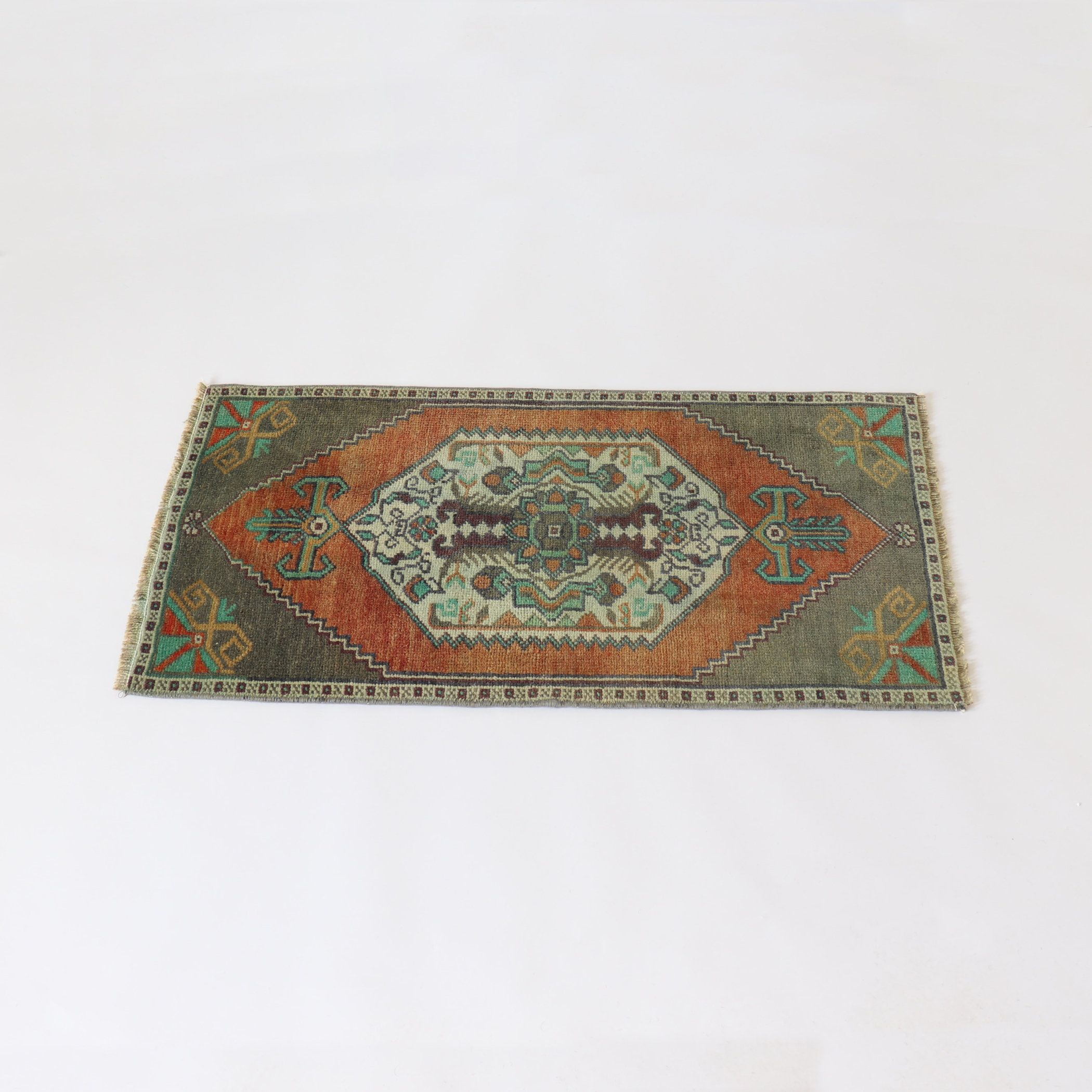 Rug Coffee Table Decor Ginger Rusty Red