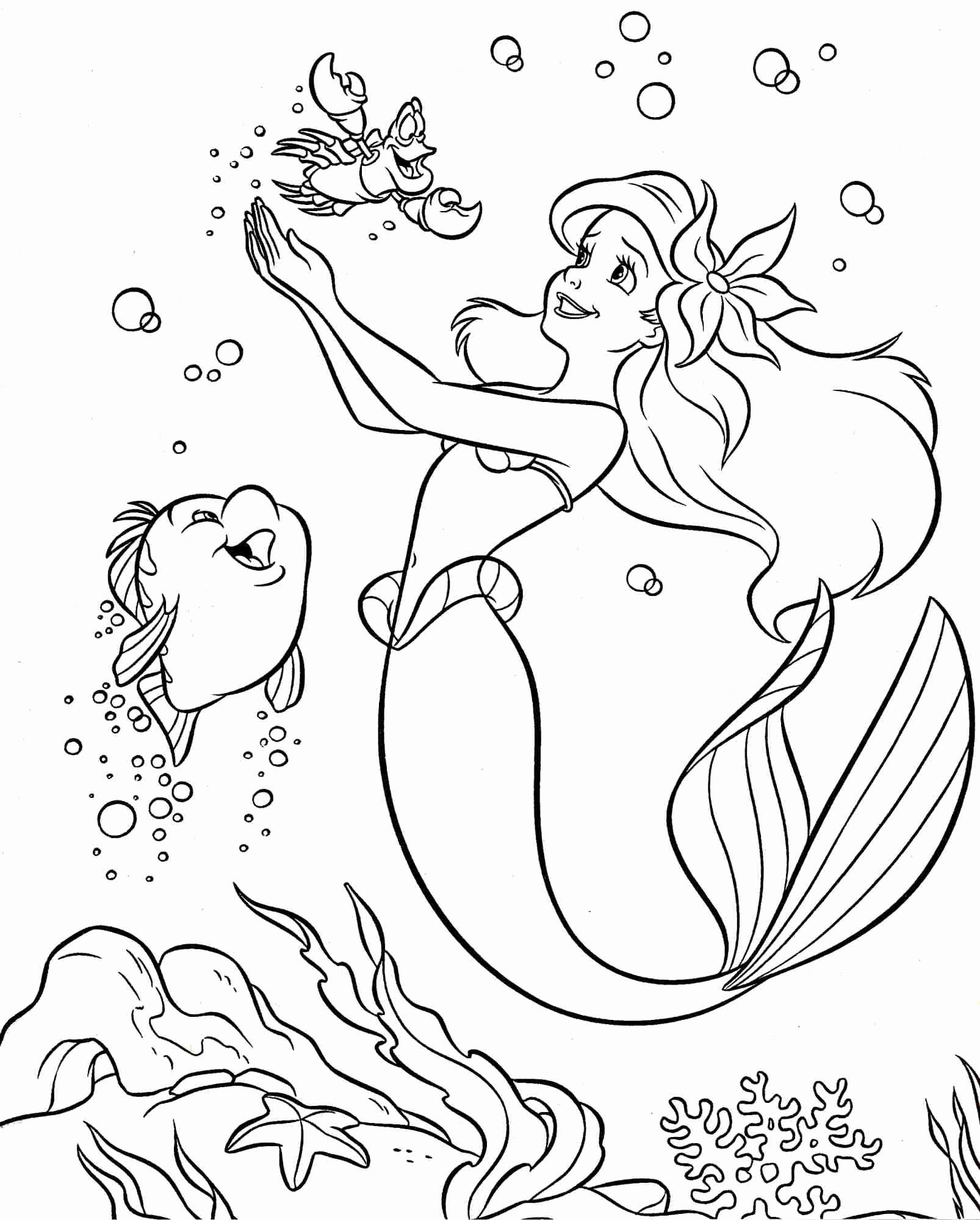 Best Coloring Pages For Kids Disney Areil In 2020 Free Disney Coloring Pages Ariel Coloring Pages Princess Coloring Pages
