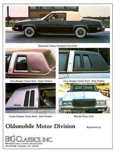 Oldsmobile Cutlass E Amp G Classics Oldsmobile Oldsmobile Cutlass Oldsmobile 442