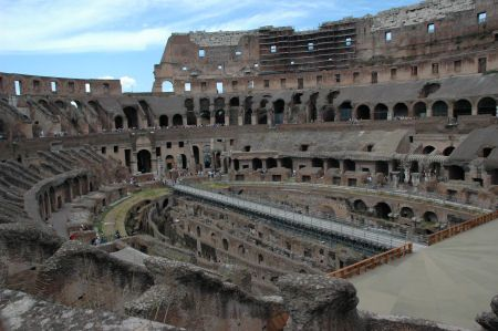 In Late Summer 2010 August For The First Time Over 2 000 Years One Of Underground Corridors Where Gladiators Prepared Battle Was Opened To