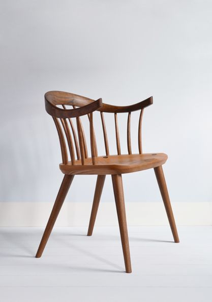 <b>Darwin</b> armchair with an elm seat<br> designed by Dave…