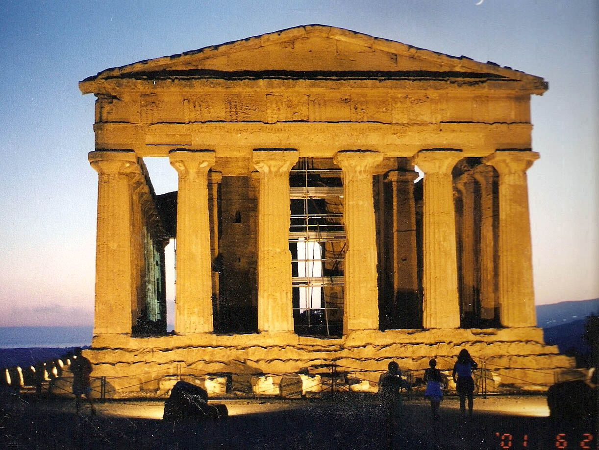 My old stomping grounds :) Agrigento, Sicily.
