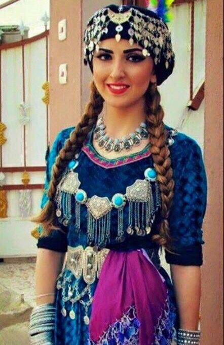 Iraqi... Assyrian Traditional Dress!