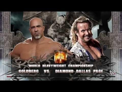 WWE 2K16: Golderg vs. DDP for WCW WHC (Halloween Havoc 1998 ...