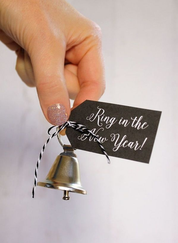 Dinner Party Favor Ideas Part - 35: DIY Party Favors Ideas Bells To Ring At Midnight