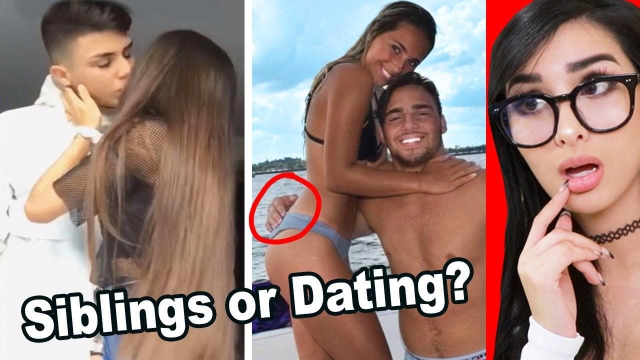 Siblings Or Dating Tik Tok Challenge Youtube In 2021 Challenges Siblings Tok