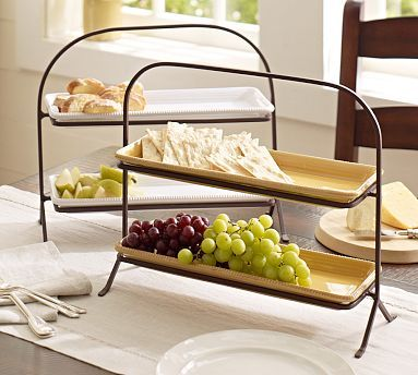Platter Stand on
