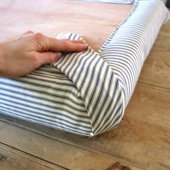 Diy Fabric Upholstery Cleaning: Creating A Flippable Topper For