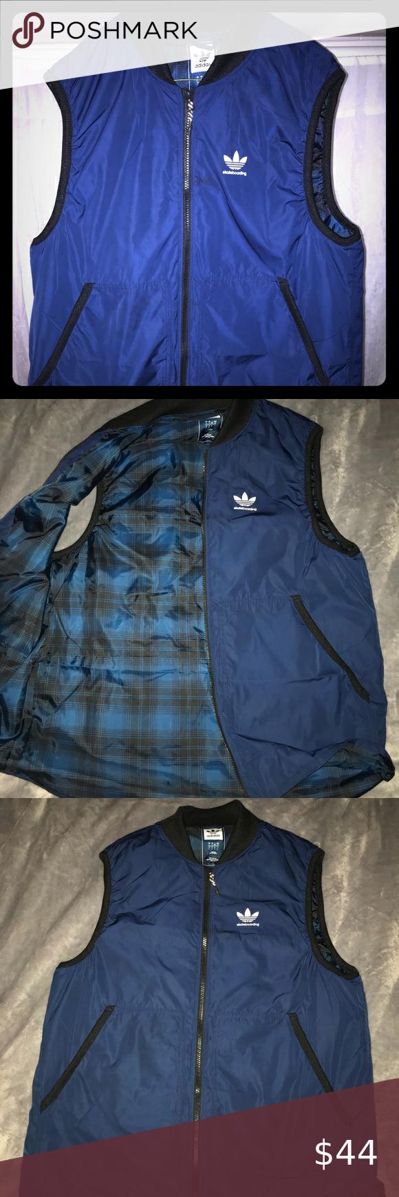 revisión Establecer Cruel  adidas skateboarding Meade light vest in 2020   Adidas skateboarding, Blue  adidas, Clothes design