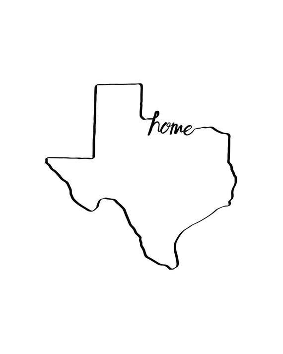 photograph regarding Texas Printable titled Pin upon Goods