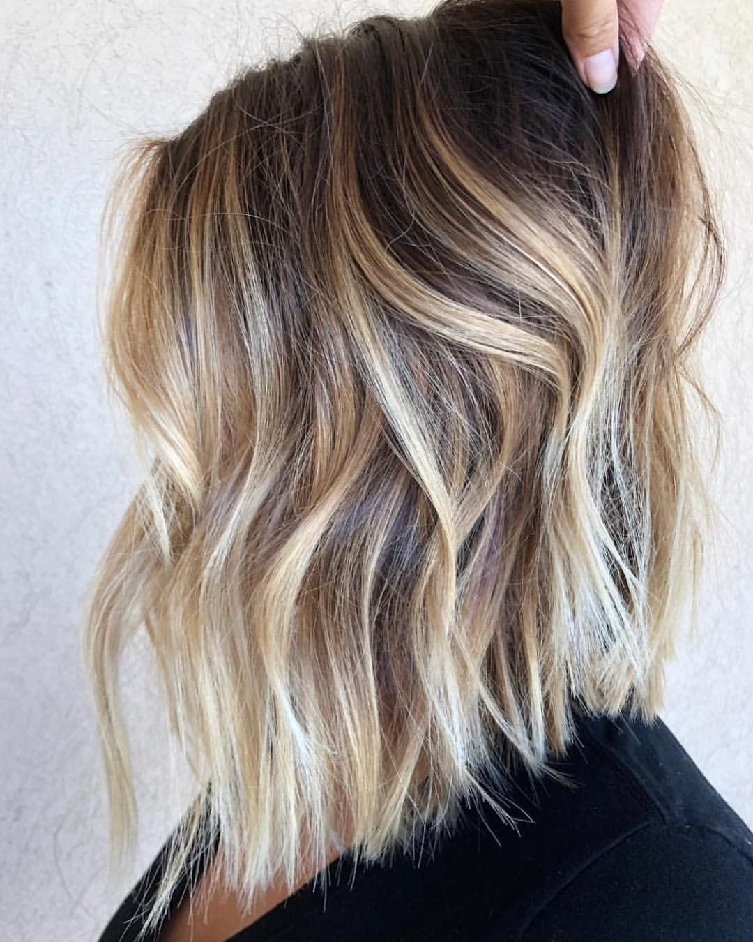 Love This Color Short Ombre Hair Blonde Ombre Short Hair Short Hair Balayage
