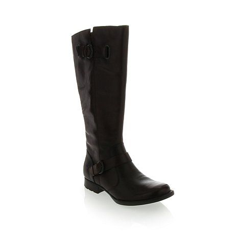born 174 quot jorah quot leather boot at hsn my