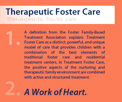 What Therapeutic Foster Care really means!