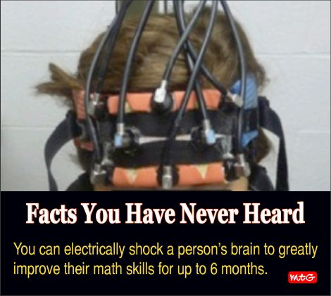 Electric Shock And Brain Activity Brain Facts Fun Facts Brain Activities